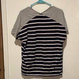 GAP Tops - Striped comfortable blouse